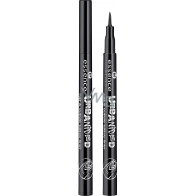 Essence Nail & Cuticle Tattoo Liner Tattoo Nail Pen and Nail Brush 01 Black 1 ml