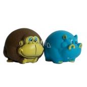 Sum-Plast Hračka gumová Opice/Hroch 8 cm