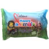 Baby wet wipes Happy Animals 60pcs 4002