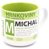 Nekupto Hrnkoviny Mug with the name Michal 0.4 liter