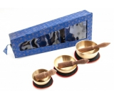 Tibetan bowl 3 pieces in a blue gift box