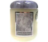 Heart & Home Winter's Tale Soy scented candle medium burns up to 30 hours 115 g