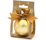 Nekupto Christmas balls Wishes come true… 11 x 6 cm