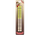 Nekupto Hobby wooden pencils Passionate athlete 2 pieces