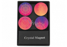 Albi Original Crystal Magnets Circles Mandala 4 pieces