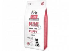Brit Care Mini Puppy Lamb grain free super premium hypoallergenic food for puppies of small breeds 0.4 kg