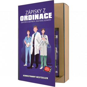 Bohemia Gifts Doktor shower gel 200 ml + hair shampoo 200 ml, book cosmetic set