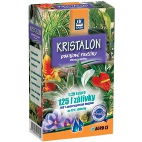 Agro Kristalon Houseplants universal fertilizer 0.25 kg for 125 l watering
