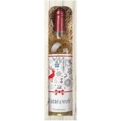 Bohemia Gifts & Cosmetics Chardonnay Kouzelné vánoce 0,75 l, dárkové víno
