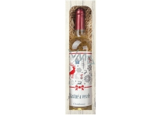 Bohemia Gifts & Cosmetics Chardonnay Happy and merry 0,75 l, gift wine