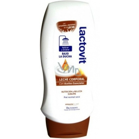 Lactovit Essential oils body lotion for shower 230 ml