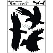 Sticker silhouette birds 42 x 30 cm No.1