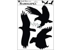 Samolepka siluety ptáci č.1 42 x 30 cm