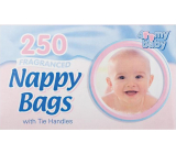 Baby 4My bags for used baby diapers with a scent of 250 pieces