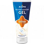 Alpa Chestnut herbal massage gel for tired feet 100 ml