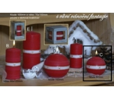 Lima Aura Christmas Fantasy Scented Candle Red Ball 80mm 1 Piece