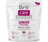 Brit Care Junior Lamb + Rice for puppies and young dogs from 3 months to 2.5 years of large breeds over 25 kg 1 kg