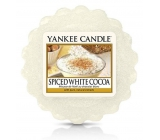 Yankee Candle Spice White Cocoa scented wax in aromalamp 22 g