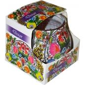 Admit Violet Design dekorativní aromatická svíčka ve skle 80 g