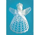Crochet angel spatial 12 cm