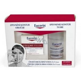 Eucerin Volume Filler Day Cream 50 ml + 3in1 micellar water 125 ml free, cosmetic set
