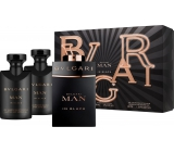 Bvlgari Man In Black perfumed water 60 ml + after shave balm 40 ml + shampoo and shower gel 40 ml, gift set