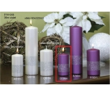 Lima Ribbon lilac candle cylinder 50 x 100 mm 1 piece