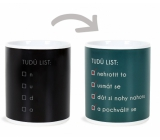 Albi Changing mug This way leaf 310 ml