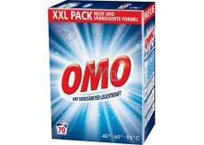 Omo White laundry detergent 70 doses of 5.6 kg