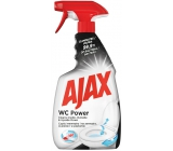 Ajax WC Power Universal cleaner, for cleaning the inside and outside of the toilet, innovative 360-degree head, spray 500 ml