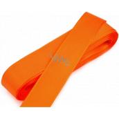 Nekupto Ribbon fabric taffeta orange 3 mx 15 mm