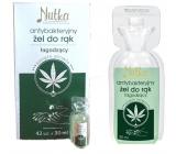 Nutka Hemp antibacterial soothing hand gel 30 ml