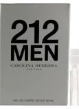 Carolina Herrera 212 Men toaletní voda 1,5 ml s rozprašovačem, Vialka