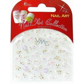 Absolute Cosmetics Nail Art self-adhesive nail stickers S3D015 1 sheet