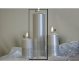 Lima Ribbon candle pearl cylinder 60 x 220 mm 1 piece