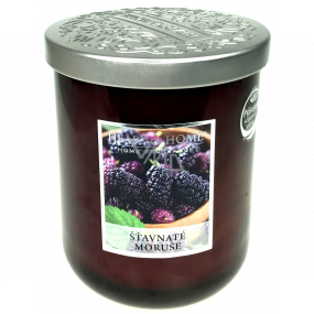 Heart & Home Juicy mulberries Soy scented candle medium burns up to 30 hours 115 g