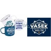 Albi Metal mug called Vašek 250 ml