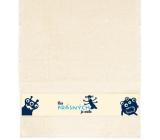 Albi Towel We beautiful is a little beige 90 x 50 cm
