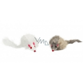 Trixie Furry Mouse Toy for Dogs 8 cm 2 pieces