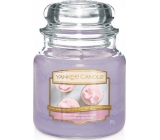 YANKEE CANDLE Sweet Glass 411g Sweet Morning Rose
