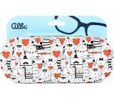 Albi Original Case for tin glasses Cats 15.7 x 6.2 x 3.2 cm
