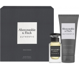 Abercrombie & Fitch Authentic Man EdT 50 ml men's eau de toilette + 200 ml shower gel, gift set