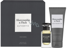 Abercrombie & Fitch Authentic Man eau de toilette for men 50 ml + shower gel 200 ml, gift set