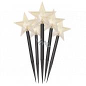 Emos Star lighting recess 30 cm, 5 LEDs, warm white + timer