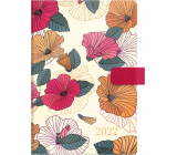 Albi Diary 2022 magnetic Bright flowers A5