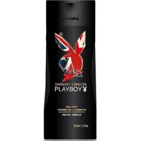 Playboy London Swingin 2v1 sprchový gel a šampon pro muže 250 ml