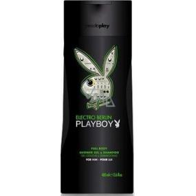 Playboy Berlin Electro 2v1 shower gel and shampoo for men 250 ml