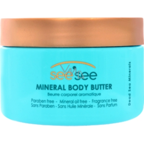 SeeSee Dead Sea with Dead Sea minerals body butter 250 ml