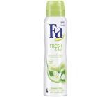 Fa Fresh & Dry Green Tea antiperspitant deodorant spray for women 150 ml