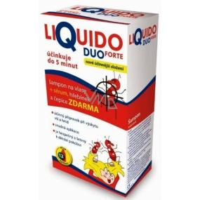 LiQuido Duo Forte šampon na vši 200 ml + sérum 125 ml